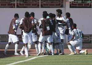 Ghana defeated Gambia 1-0