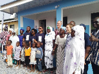 Officials of WaterAid Ghana and the Australian High Commission