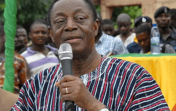 Former Finance Minister, Dr. Kwabena Duffuor