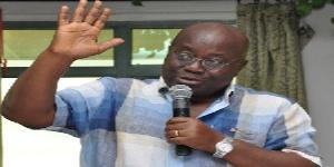 Flagbearer of the NPP, Nana Akufo-Addo