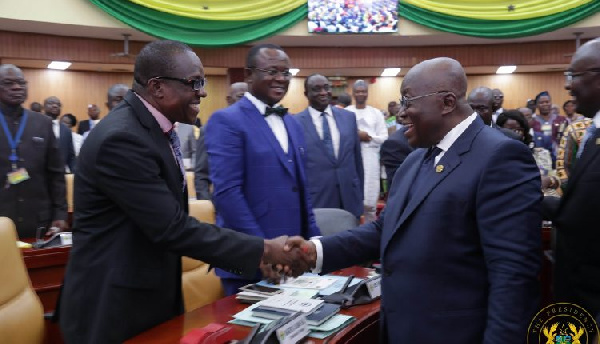 The difficulty people thought I would have with 8th Parliament has not materialized - President Akufo-Addo