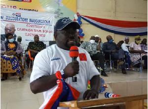 NPP Parliamentary Candidate for Bongo and DCE, Mr Peter Ayamga Ayinbisa