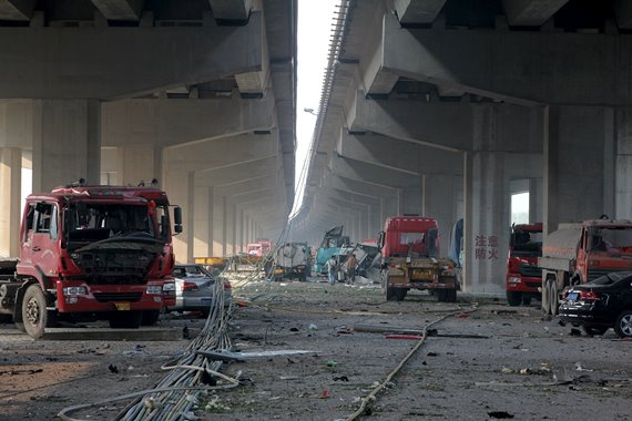 Tianjin explosion, China