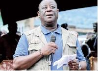 Minister for Roads and Highways., Kwasi Amoako Atta