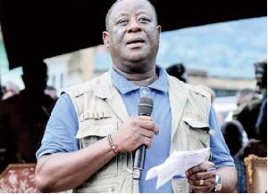 Roads and Highways Minister, Kwasi Amoako Attah