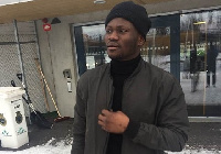 Kwame Bonsu is back in Ghana after being released