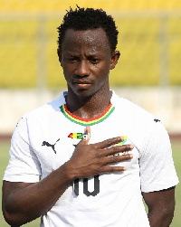 Yeboah's strike made the difference for Ghana