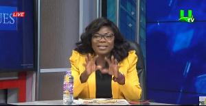 Broadcaster Afia Pokuaa a.k.a Vim Lady
