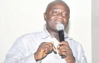 Minister for Regional Re-organisation and Development, Mr Dan Kwaku Botwe