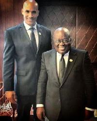 Boris Kodjoe and President Nana Addo Dankwa Akufo-Addo