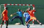 A handball game