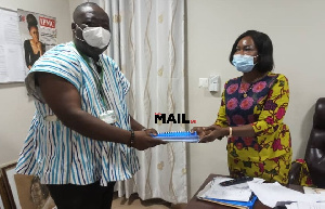 Prof Francis Kofi Ampong submitted the report to GES on Friday