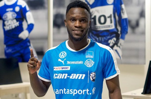 Raymond Gyasi being trailed by clubs from Germany, Kuwait