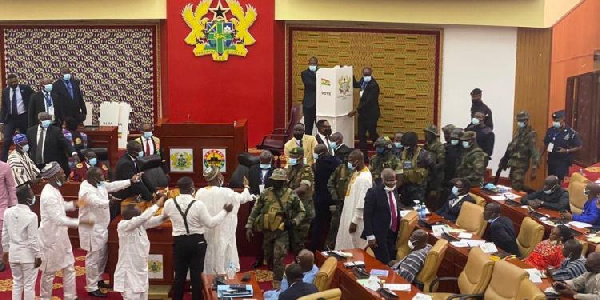 Ghana's military went far by interfering in parliamentary proceedings - Lawyer