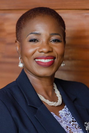 Executive Director for Springboard Roadshow Foundation, Mrs Comfort Ocran