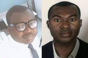 Nana Kwame Nkrumah and David Alemzero