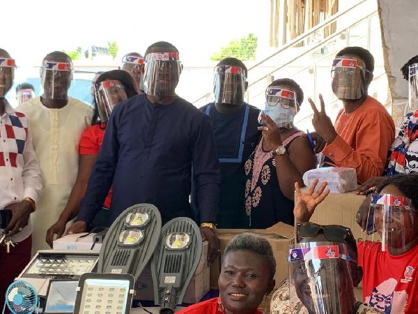 Shun electoral violence, NPP MP for Ejisu admonishes youth