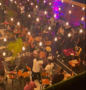 The fight occurred at Bloombar on Friday, June 18