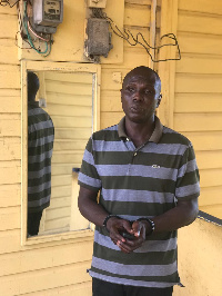 Bright Kofi Bansah was arrested for  illegally, reconnecting customers