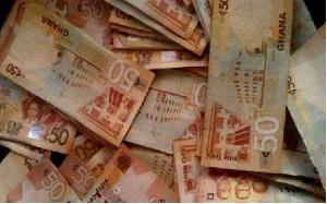 File photo of 50 Ghana cedi notes