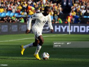 Former Ghana forward Prince Tagoe