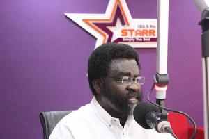 Dr Amoako Baah - Political Scientist