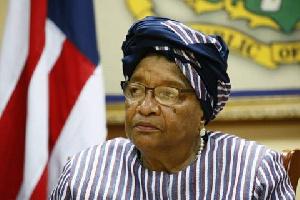 Former Liberian President, Ellen Johnson Sirleaf