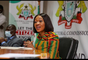 Jean Mensa is the Chairperson of the Electoral Commission