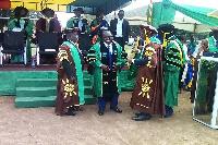 The pioneer PhD graduate, Dr Kenneth Bentum Otabil pursued Environmental Engineering Management
