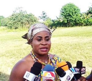 Nana Akosua Nkrumah Dasah III,Queenmother of Abofrem