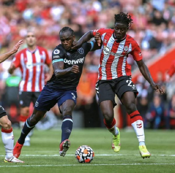 Mohammed Salisu reacts to Southampton draw against West Ham