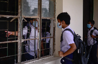 Students have been instructed to ensure hygiene and maintain distance from their peers in classrooms