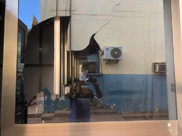 Youth destroy Police and NEDCo property in Tamale