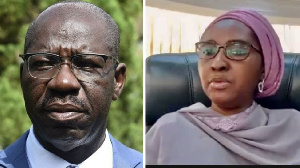 Obaseki reply FG claims on Nigerian economy say 'make we stop to dey play di ostrich'