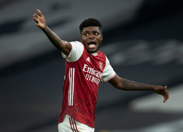 Arsenal give update on Thomas Partey's injury recovery