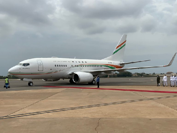 Photos: Ivory Coast, Nigeria, Niger show off presidential jets at ECOWAS summit in Accra. 58