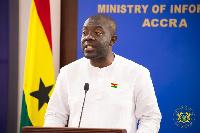 Minister of Information, Mr Kojo Oppong Nkrumah