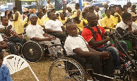 File photo of some persons with disability