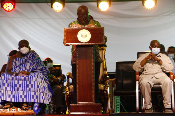 Akufo-Addo commissions US$95m recycling plant projected to create 2,300 jobs