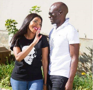 Former home affairs minister Malusi Gigaba and wife Norma Gigaba