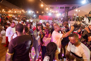 Guests at the 2018 Okyeame Kwame's Flaunt Your Lover