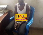 Mallam Suleman Mumuni Tanko was arrested by the Kasoa Ofaakor District Police Command