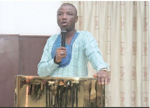 Political Science lecturer, Dr Alidu Seidu