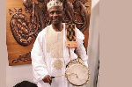 Ayan De First wants to preserve the art of the talking drum in the Western world