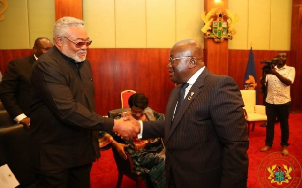 Rawlings became my advisor, confidant in 2012 – Akufo-Addo