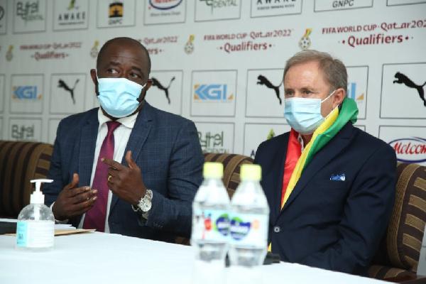 GFA capo Kurt Okraku reveals why Milovan Rajevac accepted Black Stars coaching job