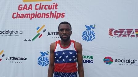 Ghanaian athlete, Ansah Sarfo