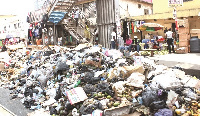 A place in Accra engulfed in filth