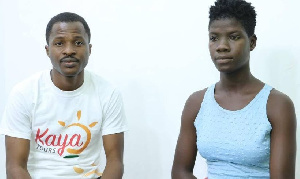 16 year old dancehall musician Dhat Gyal with Mustapha