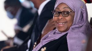 Samia Suluhu Hassan, shugaban Tanzania